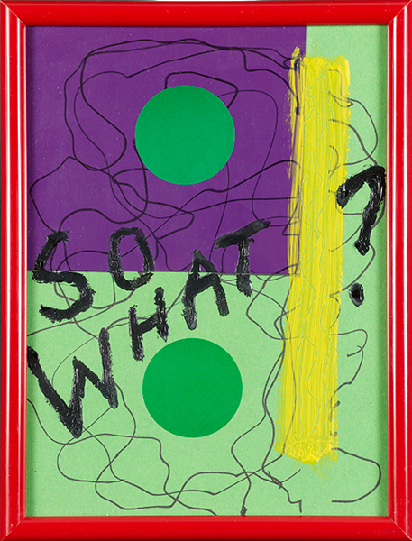 Knock on Wood, So What ?, 2011